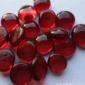 厂家直销玻璃珠 玻璃扁珠 观赏装饰用